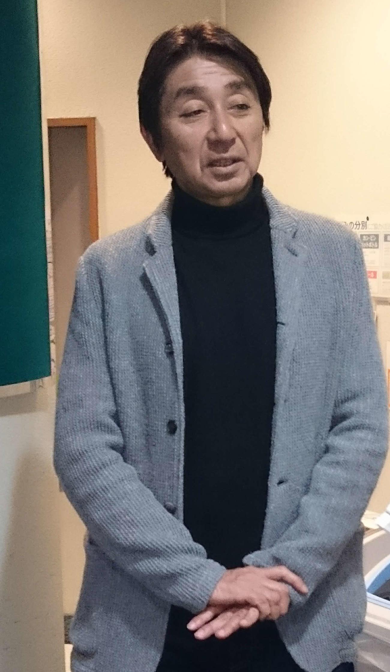 竹本一彦氏(15年12月撮影)