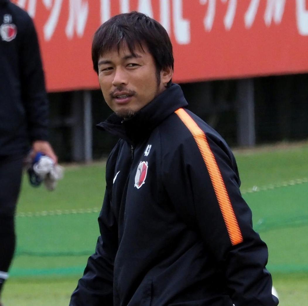 鹿島ユースの監督に就任した柳沢敦コーチ