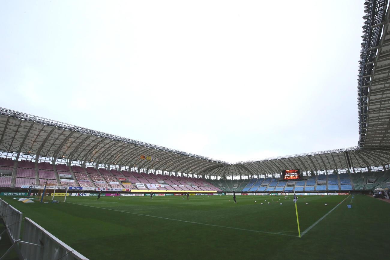 仙台のホーム、ユアテックスタジアム仙台