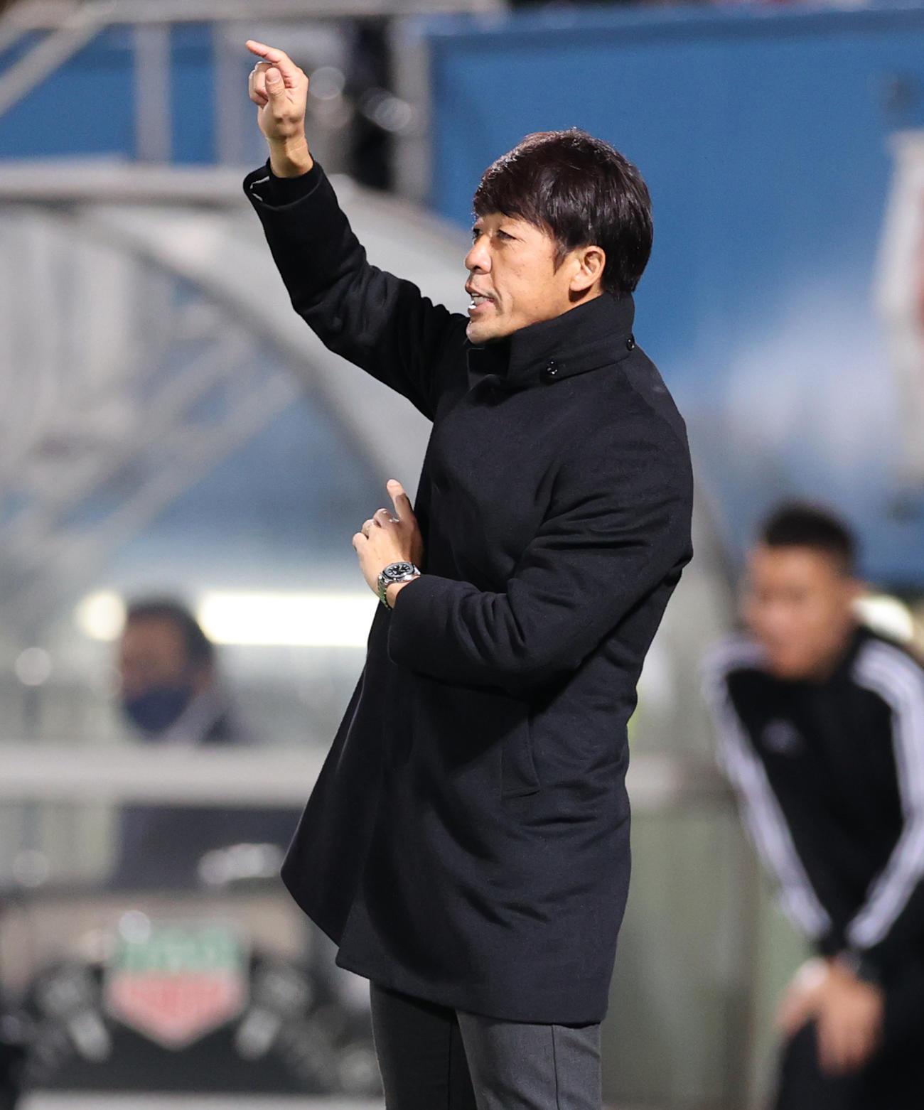 横浜FC下平隆宏監督(2020年11月25日撮影)