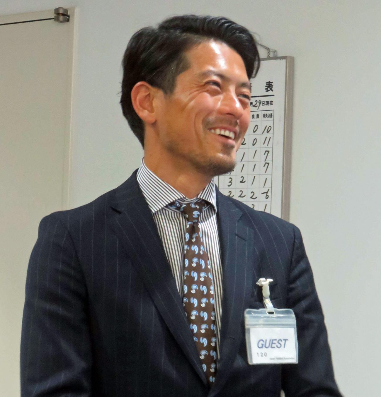 鈴木啓太氏(2017年5月2日撮影)
