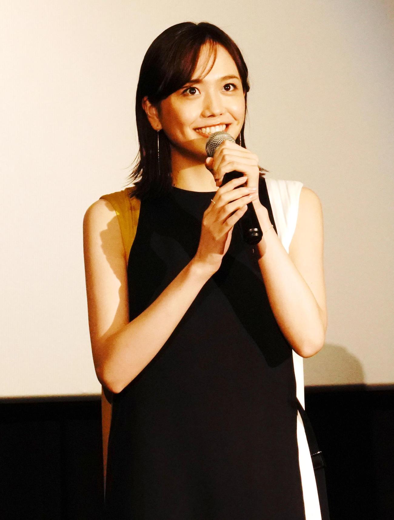 法大MF松井蓮之の姉・松井愛莉=2020年7月4日