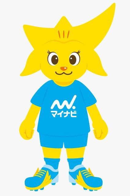 マイナビ仙台レディースの新キャラクター(マイナビ仙台提供)