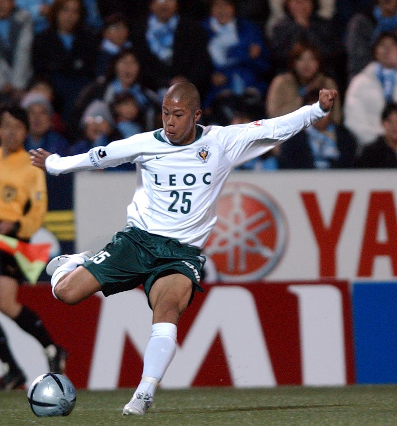 2004年3月13日に当時史上最年少で出場した東京V森本貴幸