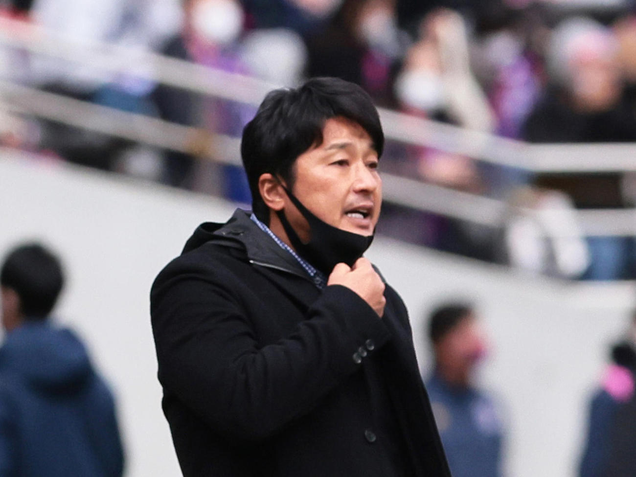神戸の三浦監督