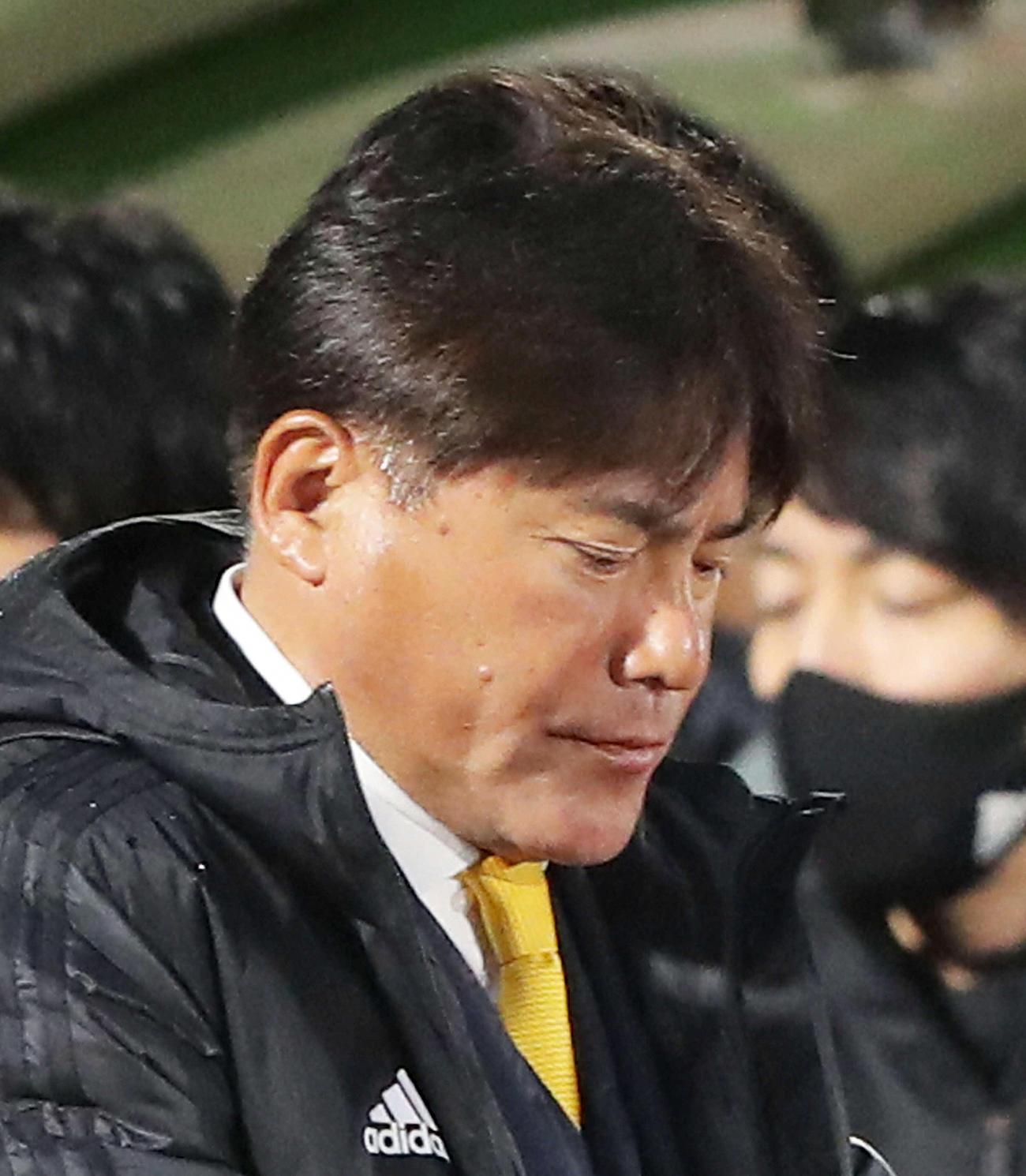 仙台手倉森誠監督(2021年3月13日撮影)