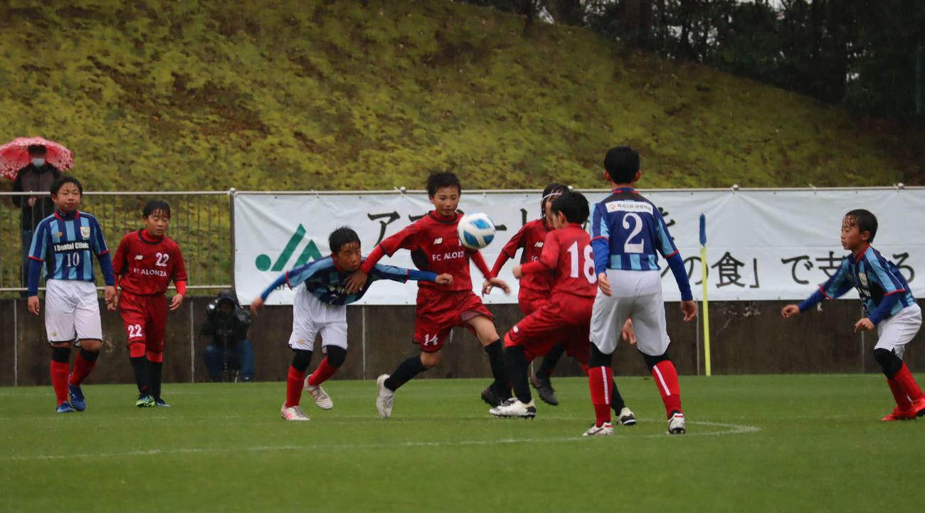 JA全農杯2021全国小学生選抜サッカーIN東海の決勝で火花を散らしたFC ALONZA(アロンザ)とMFC.VOICEの選手たち
