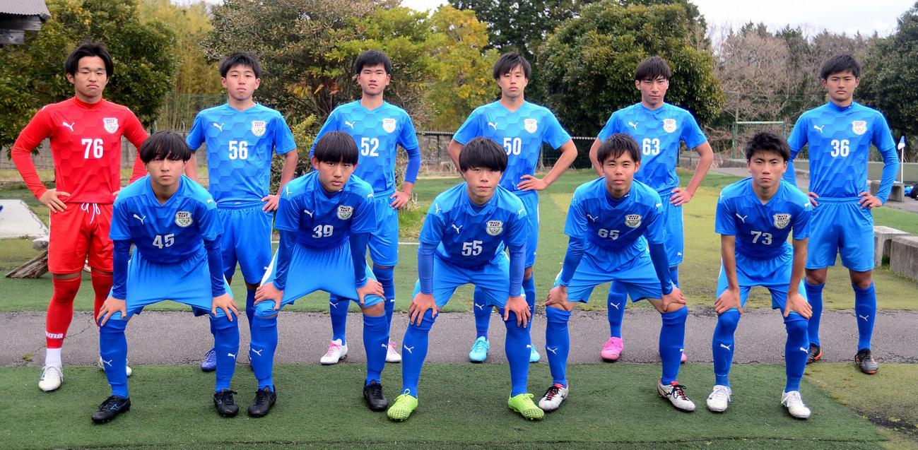 プリンスリーグ東海復帰を目指す磐田東の主な選手たち