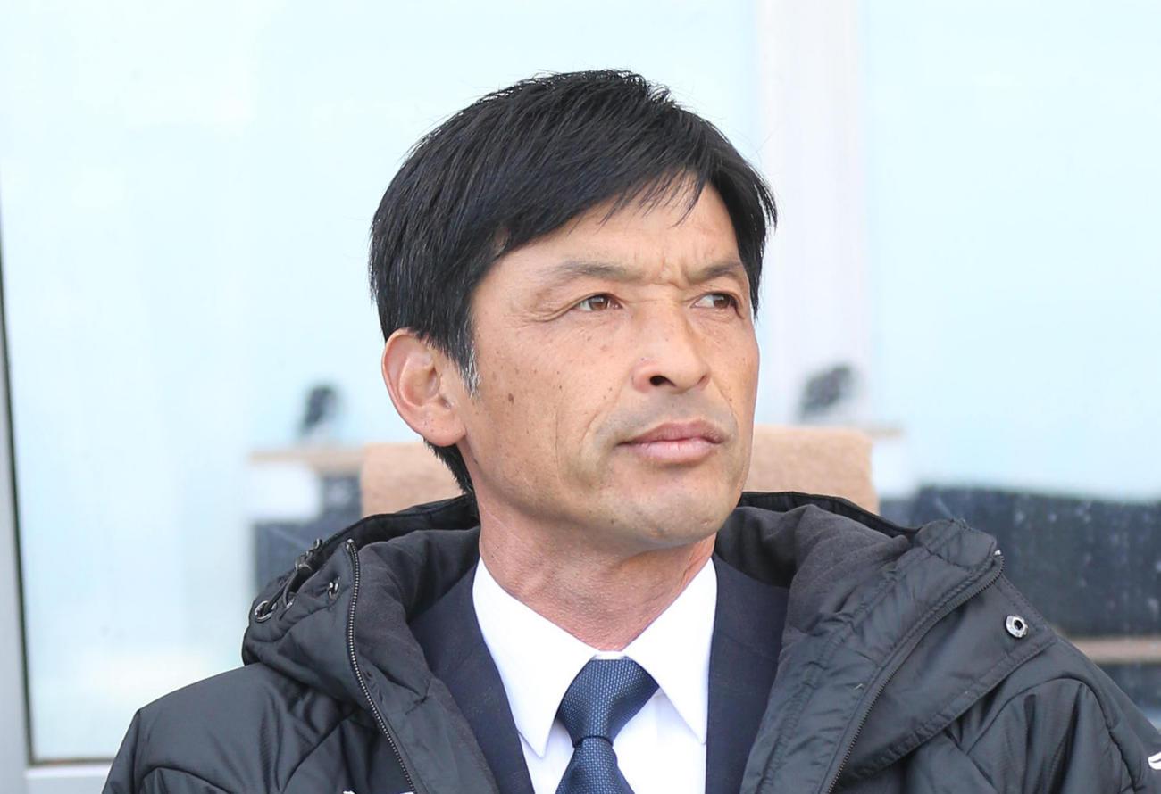 山形石丸清隆監督(20年2月撮影)