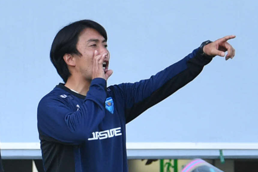 横浜FC早川知伸監督(2021年4月11日撮影)