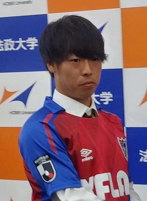 FC東京MF紺野和也(19年12月撮影)
