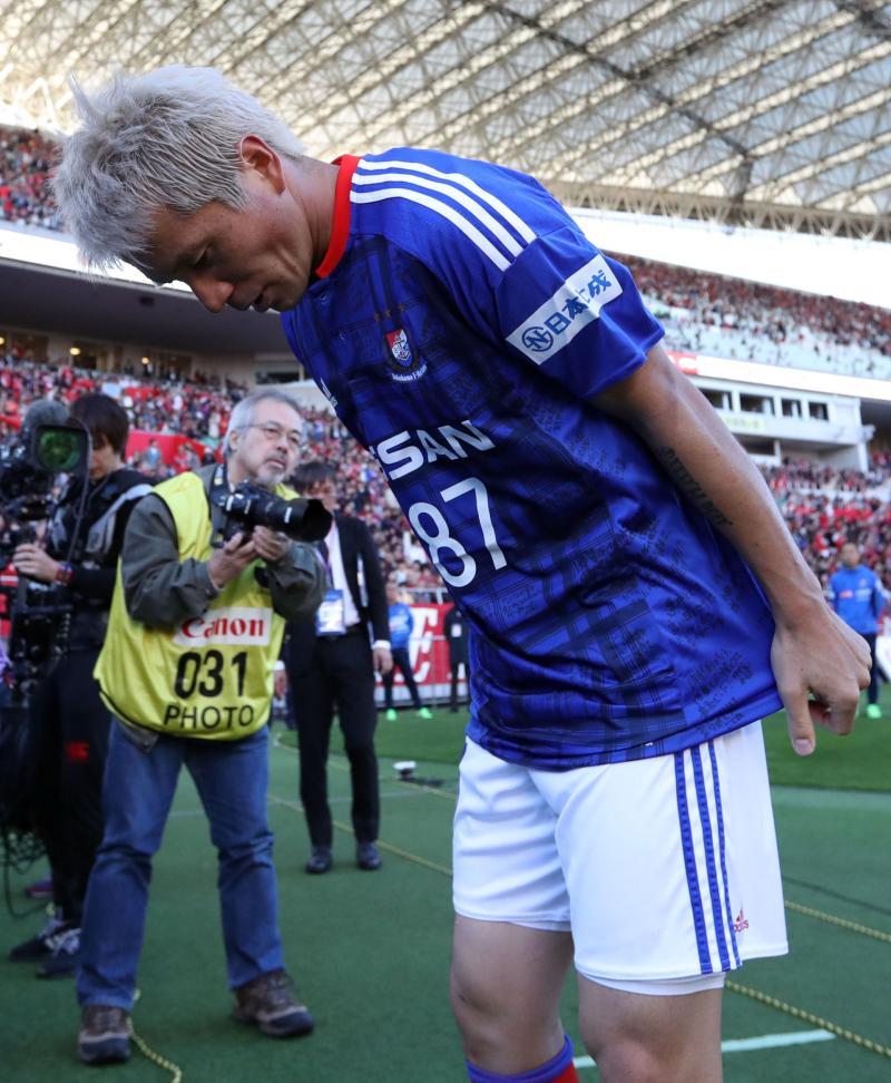 横浜退団の小林がサポーターに感謝「忘れない」 - J1 : 日刊スポーツ