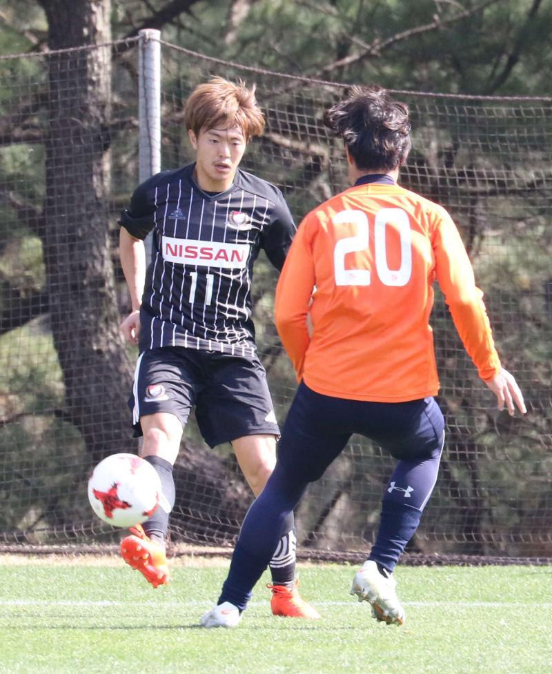 横浜「まだ練習生」斎藤学アシスト、近日中にも契約 - J1 : 日刊スポーツ
