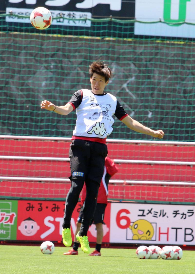 札幌MFキム・ミンテ、小野の励ましに0封で応える