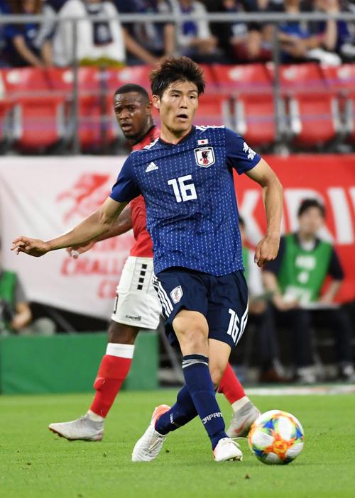 日本代表DF冨安健洋(2019年6月5日撮影)