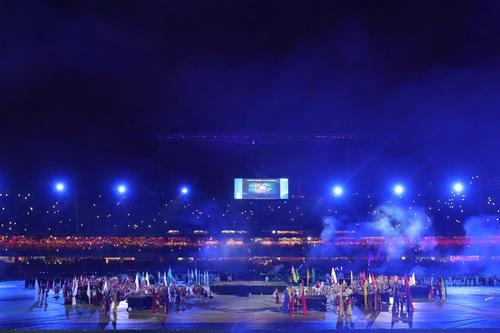 南米選手権の開幕セレモニー(ロイター)