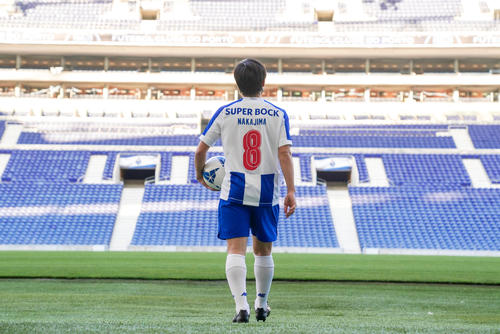 ポルトガル1部ポルトに完全移籍したMF中島 (C) FC PORTO