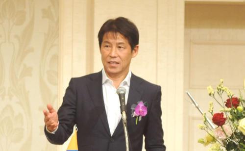 西野朗氏(2019年1月27日撮影)