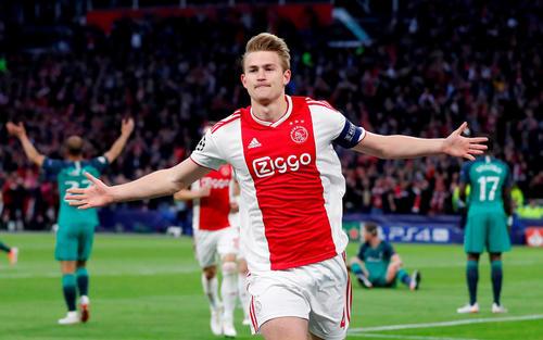 ユベントスが獲得したオランダ代表デリフト(ロイター)