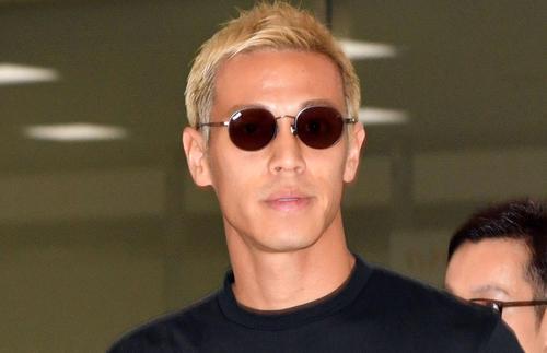 本田圭佑(2019年6月12日撮影)