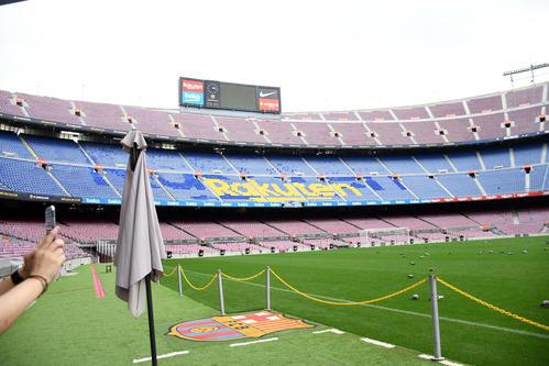FCバルセロナの本拠地 カンプ・ノウ(19年撮影)