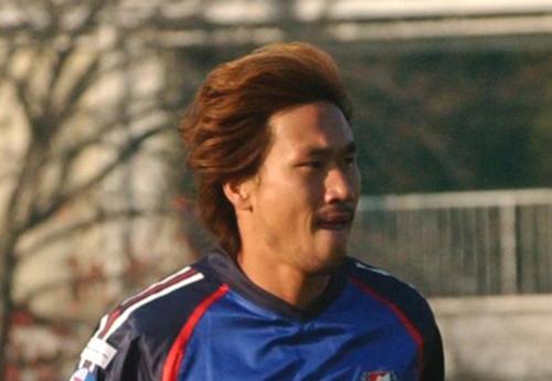 横浜時代のユ・サンチョル(柳想鉄)氏(2004年11月30日撮影)