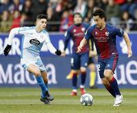 岡崎は無得点で後半途中交代 香川は出番なし - スペインリーグ : 日刊スポーツ