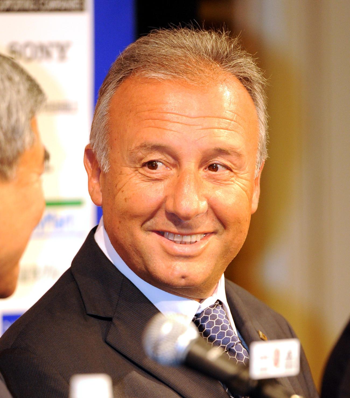 アルベルト・ザッケローニ氏(2010年8月31日撮影)