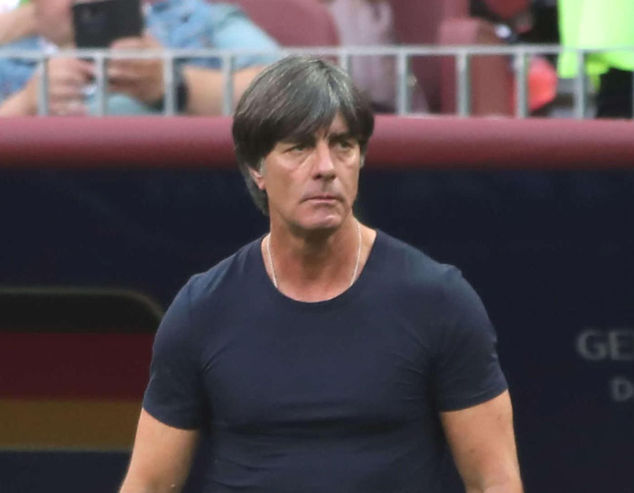 ドイツ代表のレーウ監督(2018年6月17日撮影)