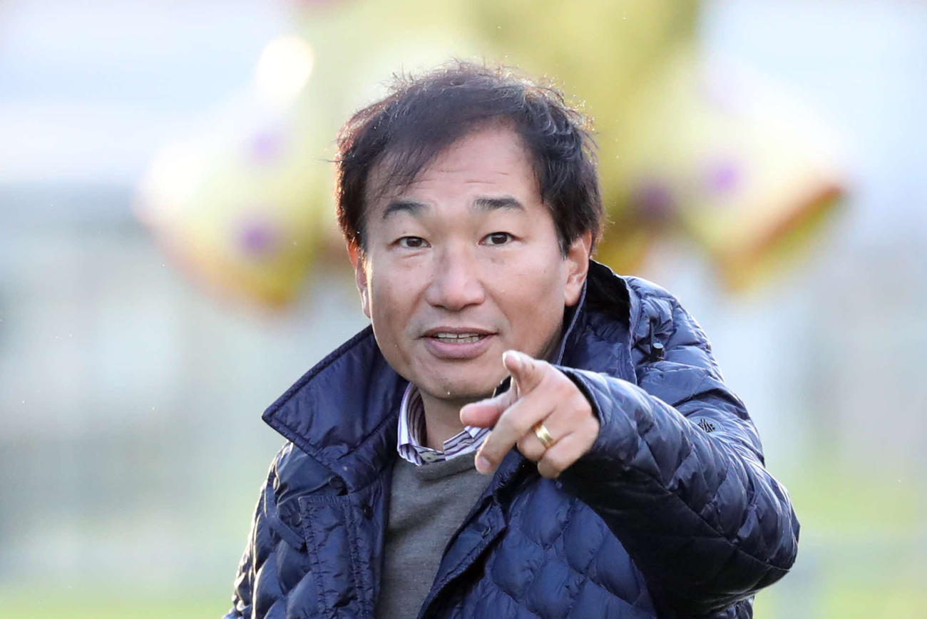 霜田正浩氏(2017年11月12日撮影)