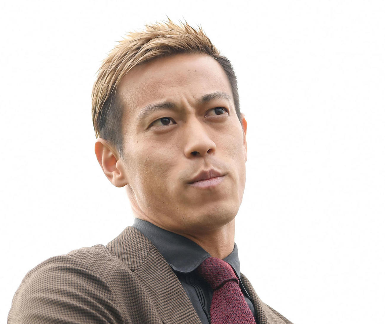 本田圭佑(2020年1月24日撮影)