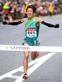 青学大・橋間Vアンカー 初メンバー入り抜擢応えた - 陸上 : 日刊スポーツ