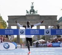 キプチョゲが人類初の2時間1分台の世界記録樹立 - 陸上 : 日刊スポーツ