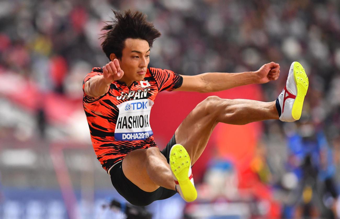 世界 陸上 走り幅跳び 男子