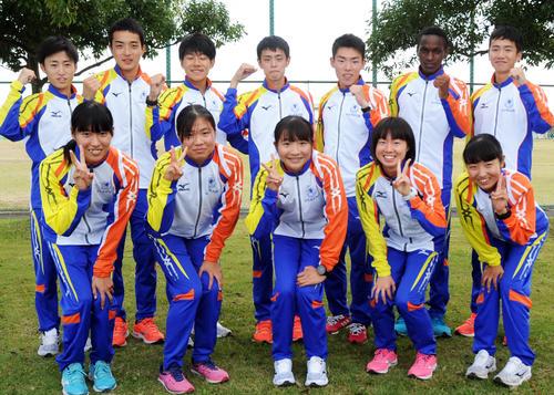 仙台育英の男女チームは6年連続26度目の全国アベック出場を決める(撮影・佐々木雄高)