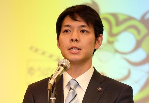鈴木直道知事(2017年1月16日撮影)