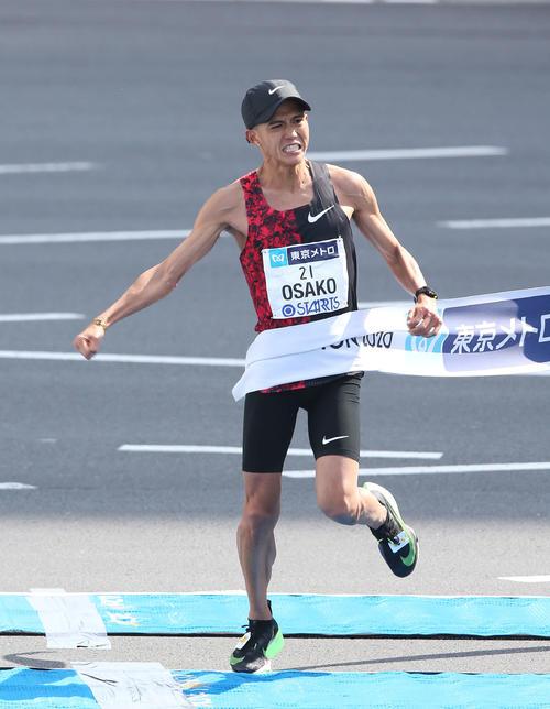 Photo of Osako and Yuta Shitara are battling / Tokyo Marathon