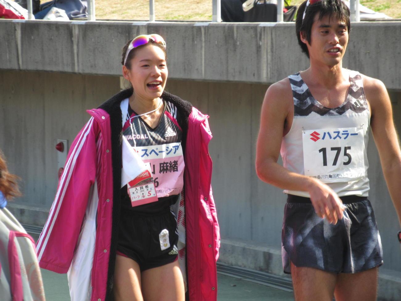 日本人トップの5位でゴールした一山