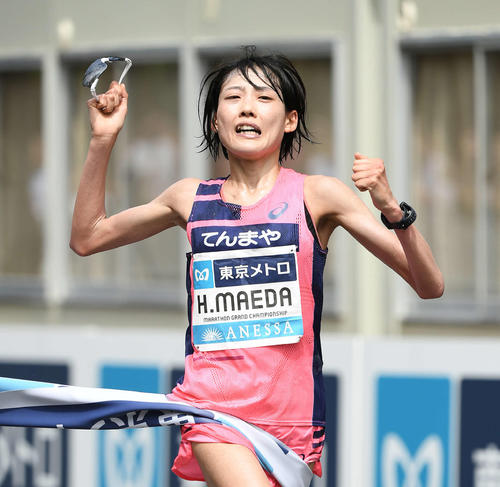 Photo of Honan Maeda in the Olympics is over Noguchi! Ome 30km Japan New V