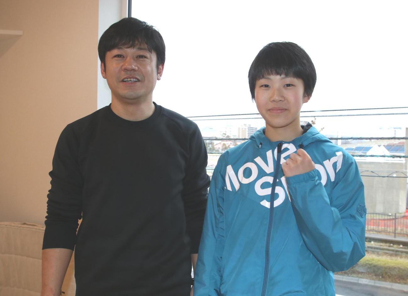4月からも二人三脚で歩むNASSの高松代表(左)と佐藤