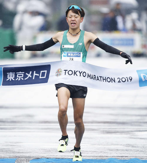"Photo of Daichi Jinno ""I give students a chance"" Izumo Ekiden"