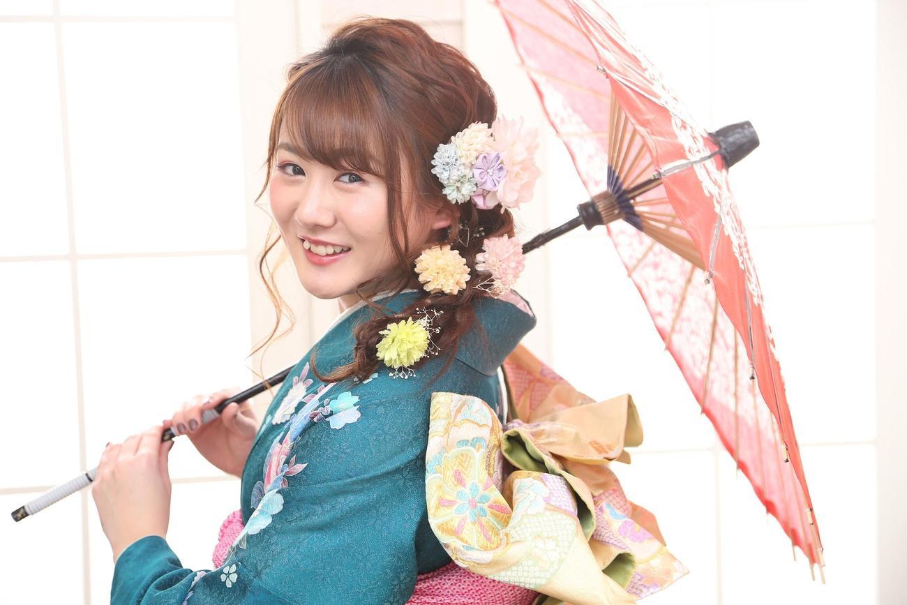 新成人の今年は日本選手権表彰台を目指す陸上女子走り幅跳びの東海大北海道・小玉(本人提供)