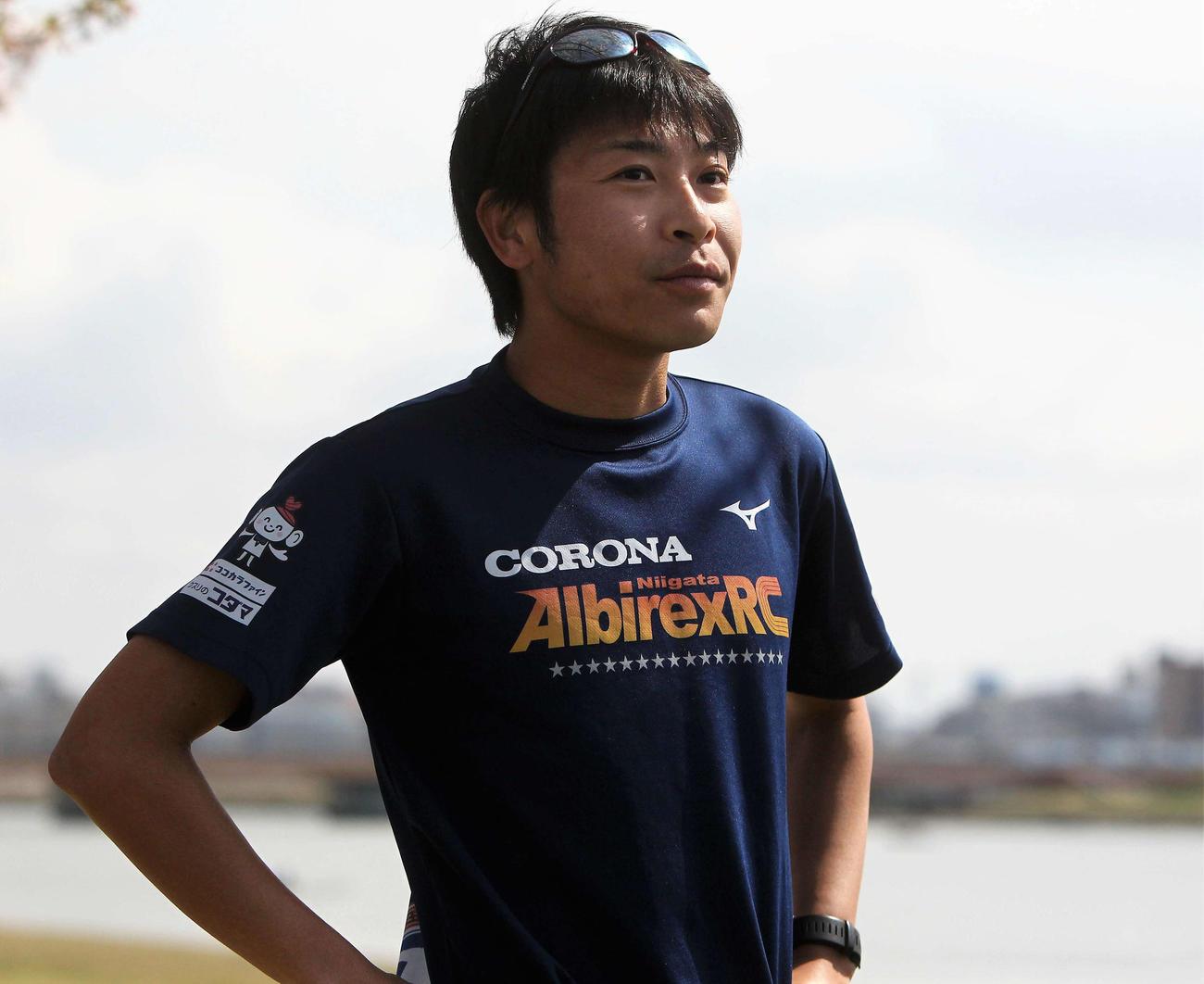 男子50キロ競歩の日本選手権で五輪代表入りに挑む小林