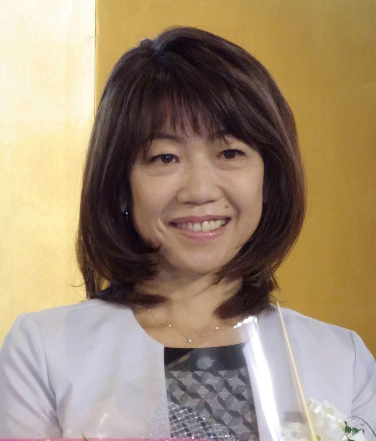 高橋尚子(2020年10月27日撮影)