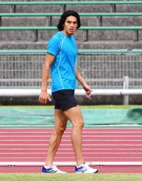 安部孝駿「自分の走りする」日本選手権400障害 - 陸上 : 日刊スポーツ