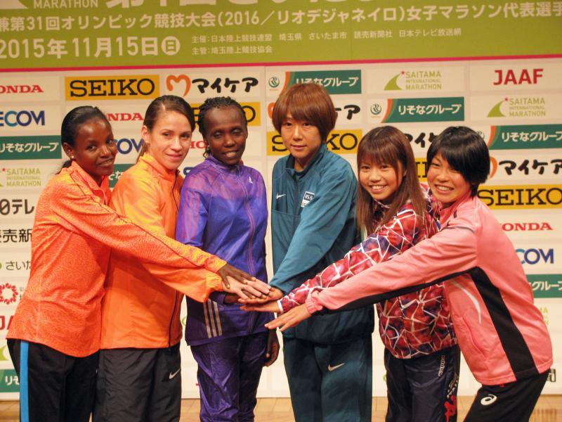 さいたま国際マラソン出場のロシア選手は困惑の表情