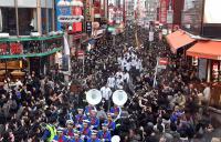 青学大 箱根V3パレード 次はマラソンへの道作り - 陸上 : 日刊スポーツ