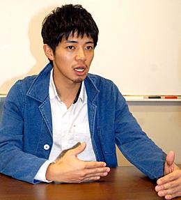 陸上について語る和田正人