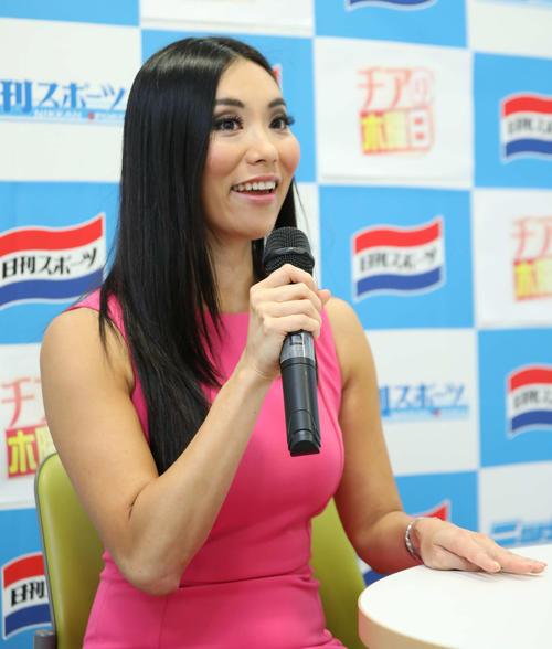 チアの魅力について語る平田恵衣さん