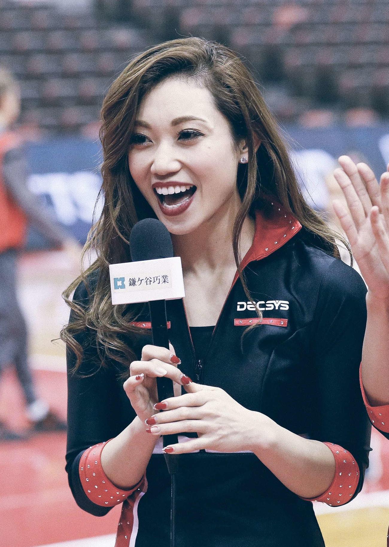 Bリーグのチアリーダーとして活躍するYuko